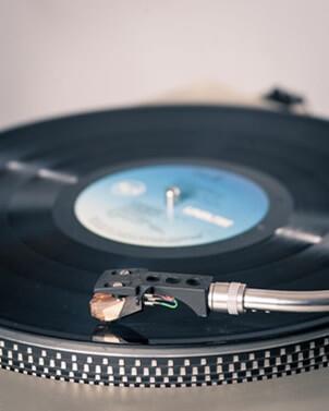 DJ-Schallplatte-Vinyl
