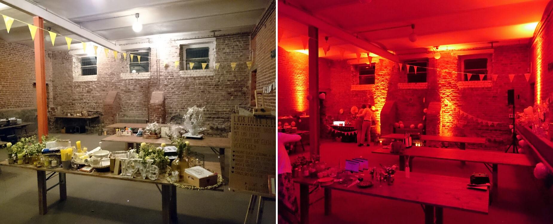 Düsseldorf-Hochzeits-DJ-Schloss-Meierhof-LED-Beleuchtung